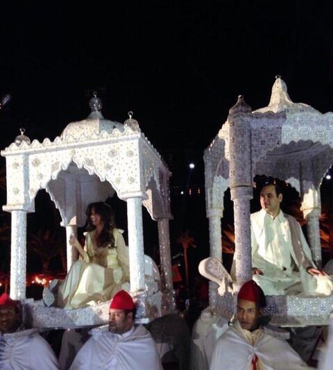الصور الأولى لزفاف مالك نجيب ميقاتي الأسطوري على الطريقة المغربية في مراكش + معطيات حصرية