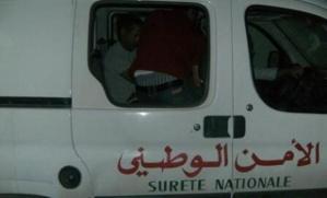 سائق طاكسي يتعرض للتعنيف من طرف عنصر امني بمراكش