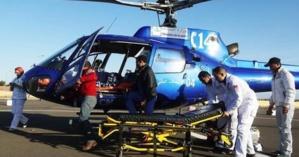 عاجل : طائرتي هيليكوبتر مجهزة تنقل 7 جرحى في حالة خطيرة الى مراكش