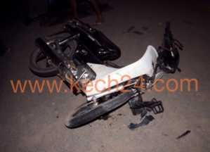 مرة أخرى دراجة سـ90 تتسبب في حادثة سير خطيرة لتلميذة بسيدي يوسف بن علي بمراكش