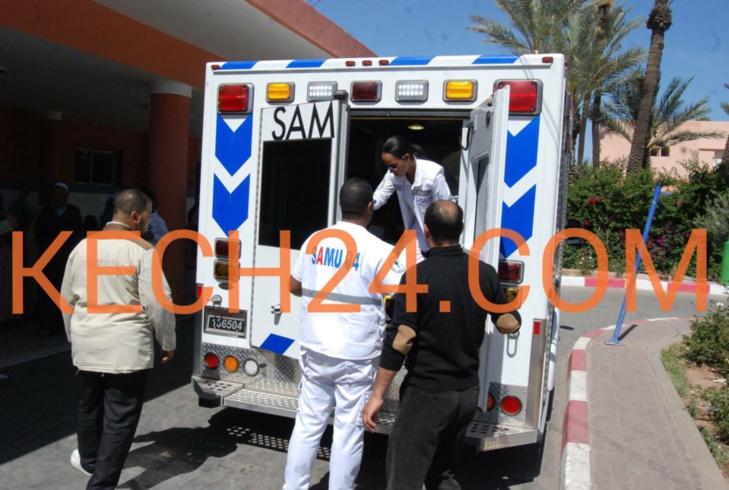 مستشفى محمد السادس وابن طفيل بمراكش يستقبلان مصابي حادثة سير ورزازات