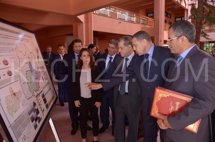 امحند العنصر يتراس المجلس الاداري للوكالة الحضرية لمراكش في دورته 15 وكشـ24 تقدم معطيات خاصة