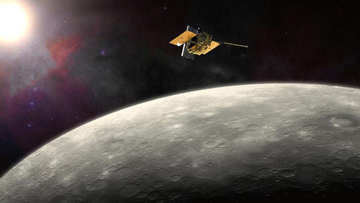 صور مذهلة لكوكب عطارد التقطها مركبة ناسا قبل