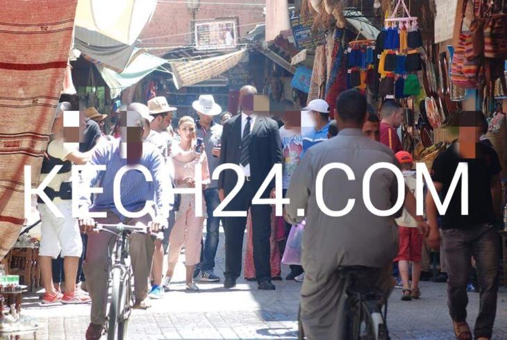 دنيا باطما تصور ڤيديو كليب جديد بمدينة مراكش + صورة حصرية