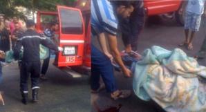 عاجل : مصرع شخصين واصابة ثلاثة اخرين في حادثة سير مروعة بصخور الرحامنة