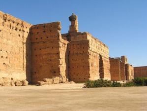 عاجل : انهيار السور التاريخي لقصر البديع بمراكش