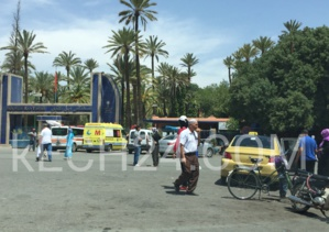 فوضى الطاكسيات تتسبب في حادثة سير أمام مستشفى ابن طفيل بمراكش