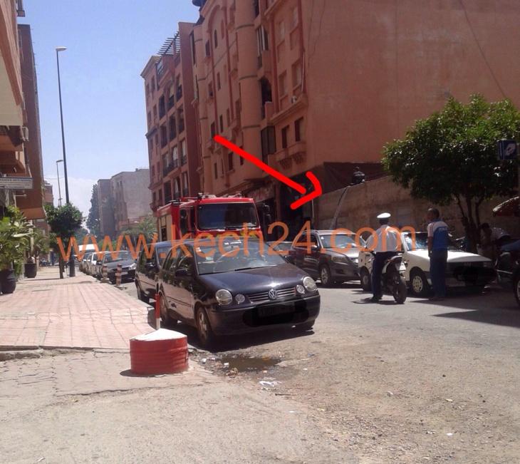 عاجل: شاعلة فمراكش...اندلاع حريق آخر بمنزل بحي كليز بمراكش + صورة حصرية