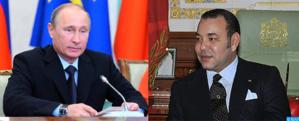 فلاديمير بوتين يدعو الملك محمد السادس لزيارة روسيا