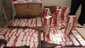 عناصر الجمارك تحجز آلاف العلب من السجائر المهربة بوجدة