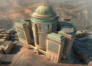 إنشاء أكبر فندق وقبة بالعالم في مكة المكرمة