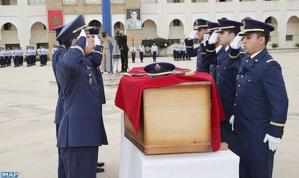 تكريماً لروح الملازم الطيار ياسين بحتي .. جنازة عسكرية بالقاعدة الجوية الاولى بسلا