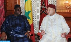 الملك محمد السادس يجري مباحثات على انفراد مع الرئيس السينغالي