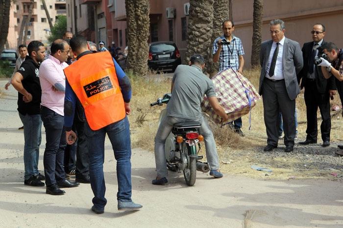 عناصر الأمن تعيد تركيب فصول جريمة قتل حلاق