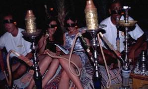 مداهمة صالونات للحلاقة ومقاهي الشيشة بحي السعادة بمراكش