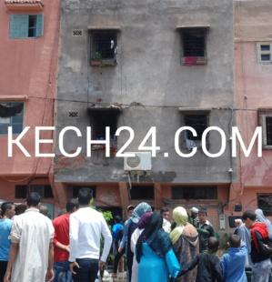 انفجار قنينة غاز يأتي على طابق منزل بحي الداوديات بمراكش كِشـ24 تكشف معطيات وصور خاصة