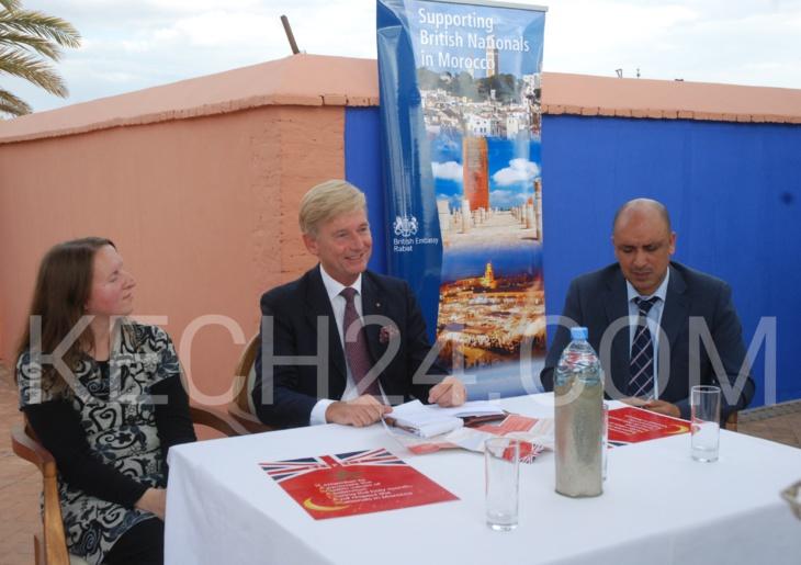 السفير البريطاني بالمغرب يدشن حملة رمضان من مراكش