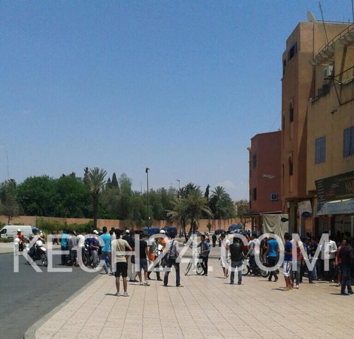 عاجل: حصيلة المواجهات بين الطلبة وقوات الأمن تصل إلى 21 جريحا بينهم طالبات والسلطات تدفع بتعزيزات أمنية جديدة نحو الحي الجامعي