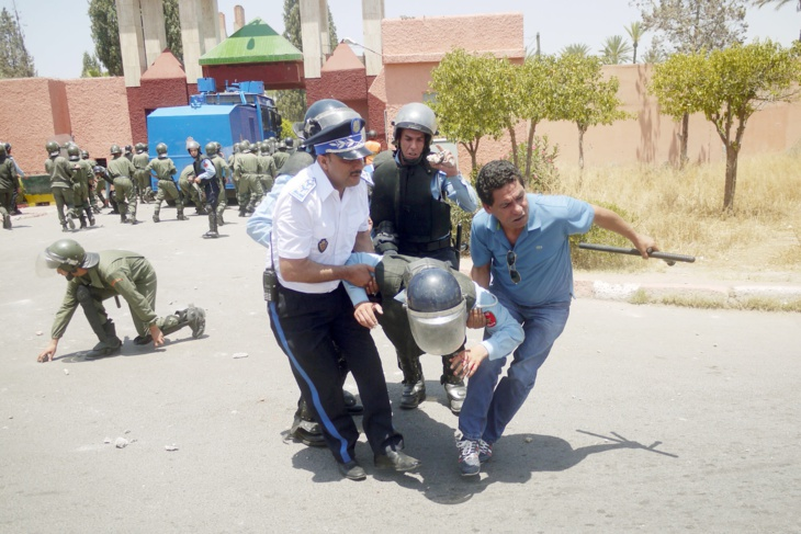 النيابة العامة تفتح تحقيقا في المواجهات الدامية بين الطلبة وعناصر الأمن بجامعة القاضي عياض بمراكش