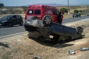 عاجل وحصري: إصابة 6 أشخاص في حادث إصطدام بين حافلة لنقل المسافرين وسيارة نواحي مراكش