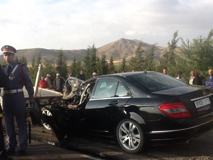 آخر حصيلة لحادث انقلاب حافلة للركاب بنواحي مراكش + صورة حصرية
