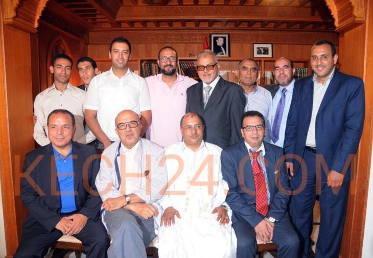 المرصد القضائي المغربي للحقوق والحريات يناقش الوحدة الترابية بمقره بمراكش