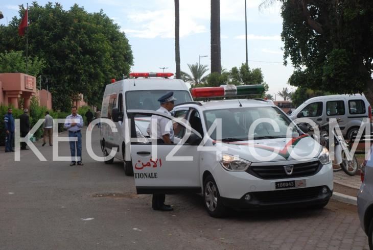 نقل جثمان عنصر الأمن ضحية حادثة السير المأساوية بمراكش الى مسقط رأسه بهذه المدينة