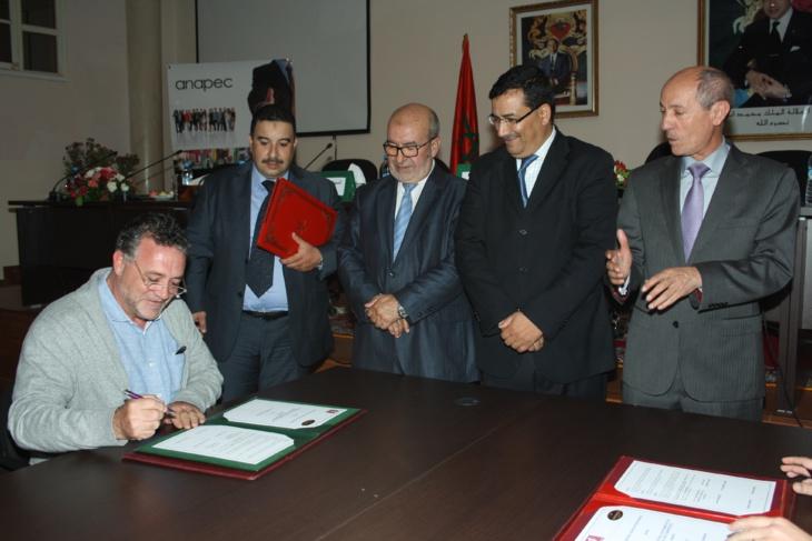 الوكالة الوطنية لإنعاش التشغيل والكفاءات شريك في المبادرات المحلية موضوع ندوة بإقليم الحوز