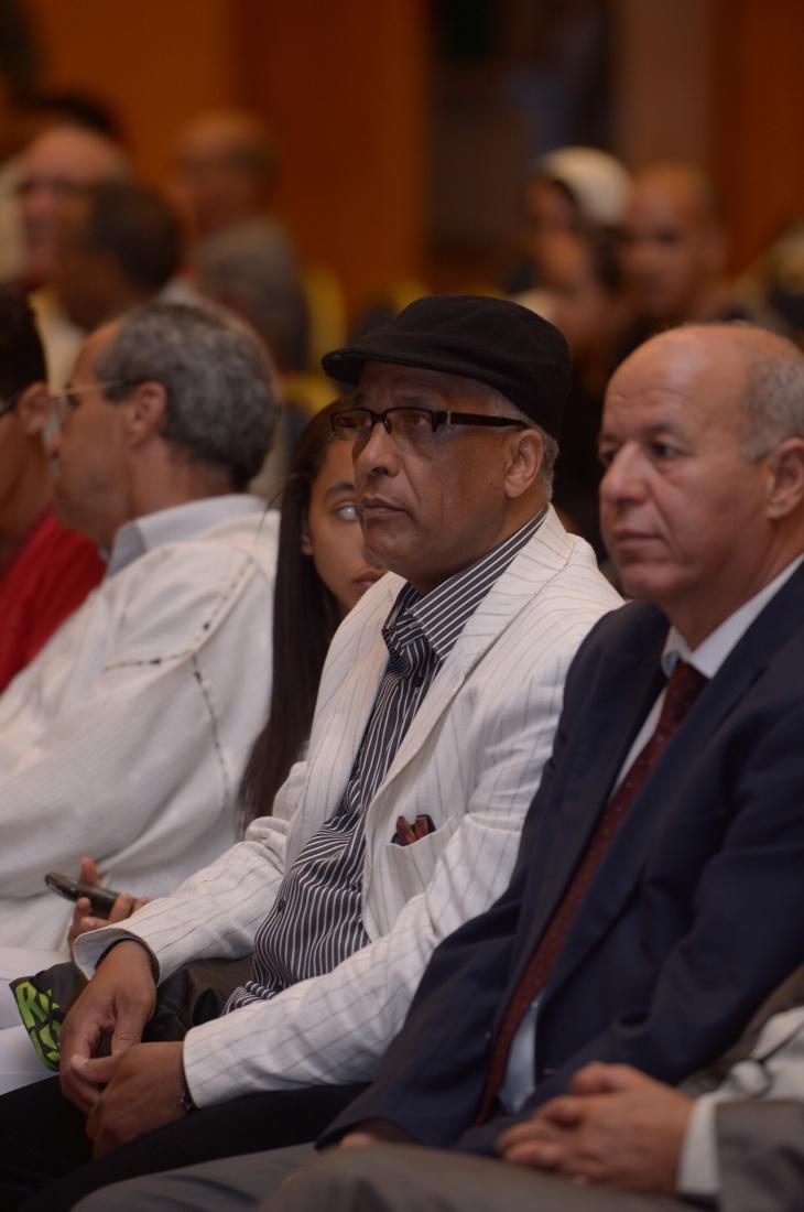 فرع النقابة الوطنية للصحافة المغربية بجهة مراكش يحتفي بالإعلاميين عمر ابن الأشهب وعبد الرزاق موحد + صور