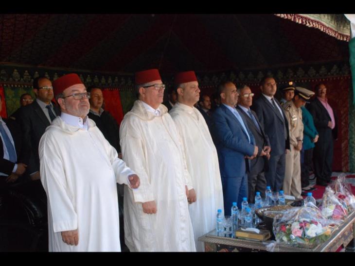 عامل إقليم الحوز يعطي انطلاقة مهرجان الجوز بأسني