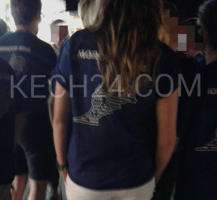 عاجل: سياح ألمان يرتدون قمصانا مٌرصَّعة بخريطة المغرب مبتورة تستنفر أجهزة الأمن بمراكش + صورة حصرية