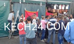 عاجل: تجار الأسواق المحيطة بساحة جامع لفنا بمراكش يدخلون في إضراب ويغلقون أبواب محلاتهم