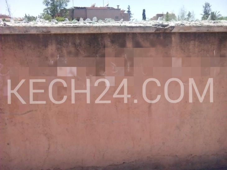 حصري: اعتقال المتهم بالضلوع في الكتابات الحائطية الماسة بالمقدسات بمراكش + صور