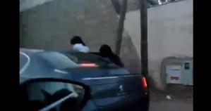 حينما تستعمل سيارات الشعب في التحرش بالفتيات في الشارع العام + فيديو