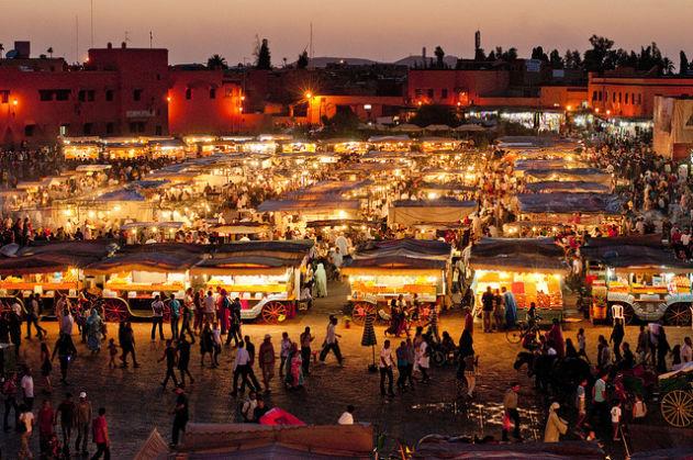 بشرى للمراكشيين بعد رمضان...ساحة جامع الفنا ستصبح مطعما مفتوحا