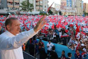 حزب العدالة والتنمية يحصل على 258 مقعدا في برلمان تركيا