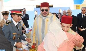 الملك محمد السادس يعطي بالرباط انطلاقة العملية الوطنية للدعم الغذائي