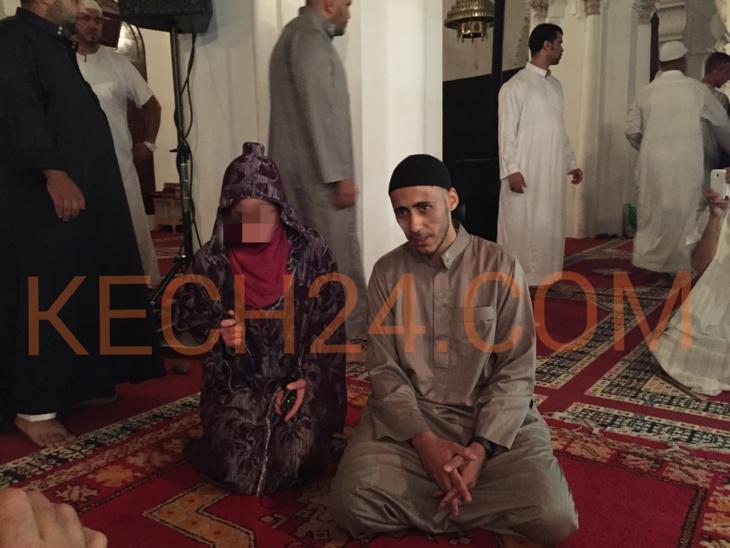 فرنسيان وايطالية يعلنون اسلامهم في اليوم الثاني من شهر رمضان بمسجد الكتبية بمراكش + صور وفيديو حصري