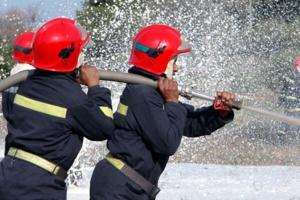 عاجل : حريق مهول يرعب سكان حي سكوما وأزلي بمراكش
