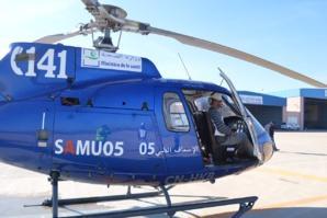 مروحية وزارة الصحة تنقذ سيدة في حالة حرجة بعد نقلها من ميسور للمركز الاستشفائي محمد السادس بوجدة
