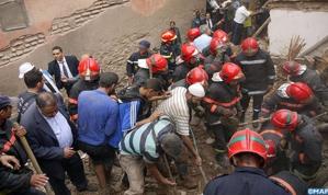 عاجل: انهيار منزلين بالزاوية العباسية بالمدينة العتيقة بمراكش