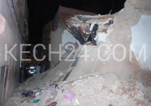 حصري : صورة انهيار منزلين بالمدينة العتيقة لمراكش وشهادة الناجين