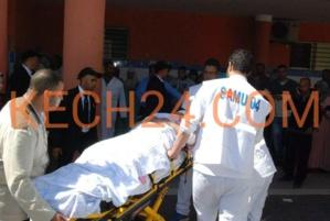 عاجل : حادثة سير خطيرة بالقرب من المدرسة الامريكية بمراكش
