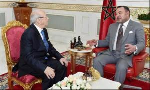الملك محمد السادس يجري اتصالا هاتفيا مع الرئيس التونسي