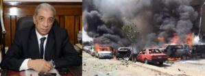 مصر تشيع جثمان النائب العام والسيسي يتعهد