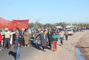 وفاة شاب بلسعة عقرب يخرج ساكنة أوريكة ضواحي مراكش للإحتجاج على تردي الوضع الصحي
