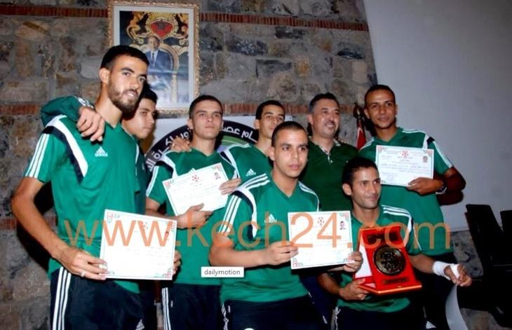 في بادرة هي الأولى من نوعها: جمعية حكام عصبة الجنوب لكرة القدم تكرم وجوها رياضية وإعلامية بمراكش + صور خاصة