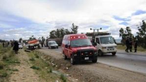 مقتل 4 أشخاص وإصابة آخرين بجروح خطيرة في حادثة سير في الطريق السيار بين مراكش وسطات