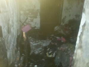 عاجل : حريق مهول يأتي على شقة بجيليز مراكش + صور