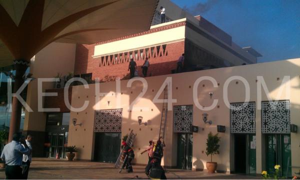 عاجل : حريق مهول بمحطة القطار بمراكش + صور حصرية
